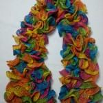 Echarpe Cancan Multicolore