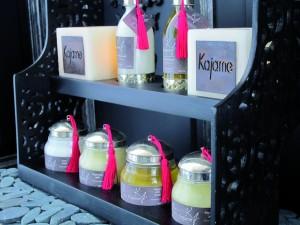 Présentoir produits Kajame