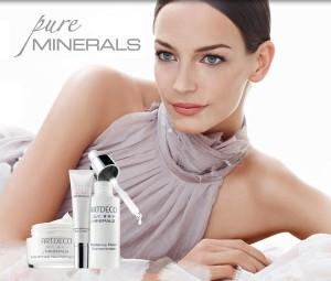Gamme pure minerals skin care