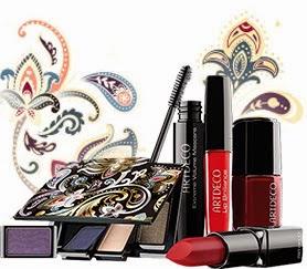 """Produits de maquillage du look maquillage Automne/Hiver 2014 """"Majestic Beauty"""""""