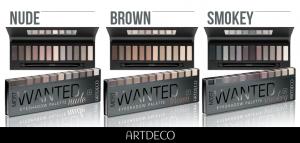 Palettes de maquillage : smokey, brown et nude