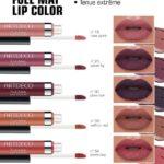 """Rouge à lèvres ultra mat """"Full Mat Lip Color"""" du look maquillage Automne/HIver"""